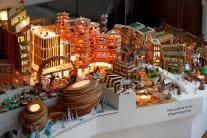 The Museum of Architecture's Gingerbread City in London