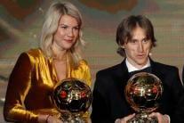 Luka Modric, Ada Hegerberg Win the Ballon d'Or Award 2018