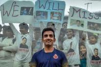 PHOTOS| Cricket Fans Bid Farewell to Gautam Gambhir