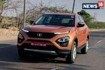 Tata Harrier SUV First Drive - Detailed Image Gallery