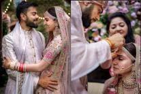 Virat Kohli-Anushka Sharma's Wedding Album; See Pics