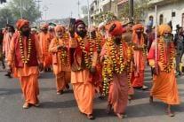 Kumbh Mela 2019: Sadhus Carry Out 'Nagar Pravesh' Procession