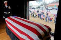 PICS: George HW Bush's Funeral Trains' Final Farewell