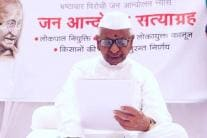 PHOTOS| Anna Hazare Begins Hunger Strike Over Lokpal