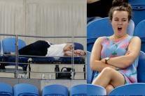 Australian Open 2019: Empty Stands, Sleeping Fans & Other Bizarre Moments