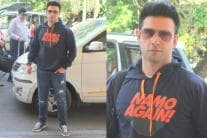 Airport Sightings: B'wood Actor Makes a Style Statement With 'NaMo Again' Hoodie