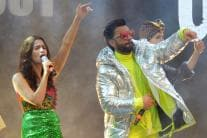 Ranveer Singh and Alia Bhatt Rock Gully Boy Music Launch Event