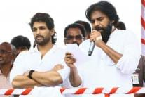 Allu Arjun Campaigns for Pawan Kalyan's Jana Sena Party