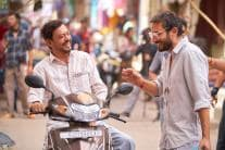 PHOTOS| Irrfan Is All Smiles as He Shoots for Angrezi Medium