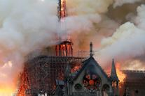 Notre Dame Cathedral Fire: Iconic Paris Landmark in Flames; See Pics