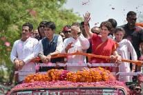 Rahul Gandhi's Road Show in Amethi Before Filing Nomination Papers