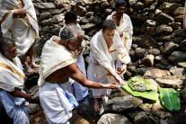Rahul Gandhi Visits Papanasini Stream, Performs 'Beli Tharpanam'