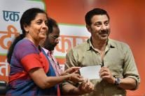 Sunny Deol Joins BJP, Likely To Contest From Punjab's Gurdaspur