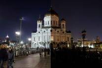 Earth Hour 2019: Famous Places Before & After They Went Dark