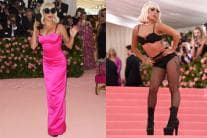 In Pics: Lady Gaga's Raunchy Strip Show on Met Gala Red Carpet