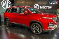 MG Hector SUV Unveiled, Looks Bold - See Pics
