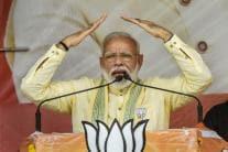 PICS  PM Narendra Modi's Election Rally in Bihar's Buxar