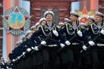 PICS: Russia Marks Victory Day 2019 With Military Parade