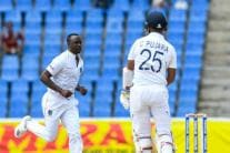 In Pics, India vs West Indies Day 1 at Antigua