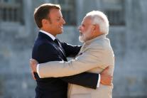 See All the Pictures From PM Narendra Modi's France Visit