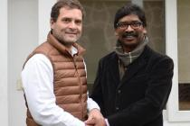CPI a Part of Jharkhand Mahagathbandhan? Hemant Soren, Rahul Gandhi Brainstorm Over Victory Plan