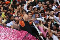Amit Shah Breaks Advani's Victory Margin Record in Gandhinagar But Ranks Third in State