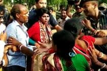 Violence Mars Bengal Voting Again, BJP's Bharati Ghosh Breaks Down After Being Heckled