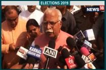 Elections 2019, 6th Phase: Haryana CM Manohar Lal Khattar Casts His Vote In Karnal