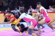 Pro Kabaddi: Jaipur Pink Panthers Condemn Gujarat Fortunegiants to 6th Straight Loss