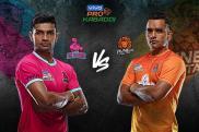 Pro Kabaddi 2019 HIGHLIGHTS, Jaipur Pink Panthers vs Puneri Paltan in Ahmedabad: Jaipur Beat Pune 33-25