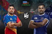 Pro Kabaddi 2019 HIGHLIGHTS, UP Yoddha vs Haryana Steelers in Ahmedabad: Haryana Beat UP