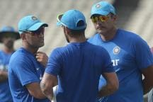 Dhoni is Going Nowhere, He Just Wanted to Show the Ball to the Coach: Shastri