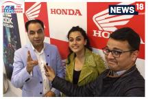 Auto Expo 2018: In Conversation With Taapsee Pannu at Auto Expo on Her First Scooter and More