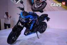 Suzuki GSX-S750 First Look Video at Auto Expo 2018
