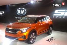 KIA SP Concept First Look Video at Auto Expo 2018