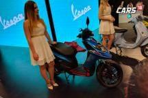 Aprilia SR 125 First Look Video at Auto Expo 2018