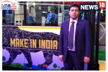 Auto Expo 2018: 100% Electric Bus at Auto Expo, In Conversation With Nishant Arya, Exec Director, JBM Group
