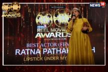 VIDEO: News18 Reel Movie Awards | Ratna Pathak Shah Bags Best Actor (Female) Award