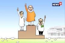 Watch: Our In-House Cartoonist Neelabh's Witty Take On The Congress-JDS Alliance In Karnataka