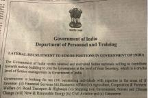 To be Successful, Lateral Entry Must Lead to the Abolition of IAS