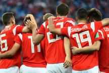 FIFA World Cup 2018: Russia Spoil Salah's Party to Close in on Last 16