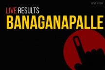 Banaganapalle Election Results 2019 Live Updates: Counting of Votes On