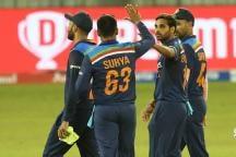 India vs Sri Lanka: Suryakumar Yadav Fifty, Bhuvneshwar Kumar's Four Wicket Haul Take India 1-0 Up