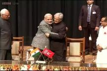 Jammu and Kashmir gets PDP-BJP government, Mufti Mohammad Sayeed sworn in as CM