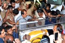 Dravidian Icon M Karunanidhi Laid to Rest Next to Mentor Anna; Chennai Bids Teary Farewell