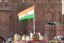 Watch: PM Unfurls Tricolour at Red Fort