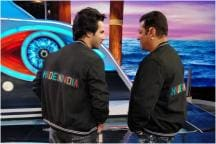 Bigg Boss 12: Varun Dhawan Stitches Made In India Jacket for Salman Khan. See Pics