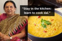 OPINION| Anandiben Patel Advised Schoolgirls to Make 'Perfect Daal'. Really, Now?