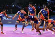 Pro Kabaddi 2018: Dabang Delhi Lose Close Game to UP Yoddha 36-38