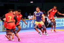 Pro Kabaddi: Bengaluru Bulls Hand Tamil Thalaivas Third Defeat on the Trot in Lopsided Contest
